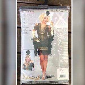 Great Gatsby 20's Swanky Flapper Girl Costume XL
